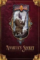 Anarya's Secret front cover