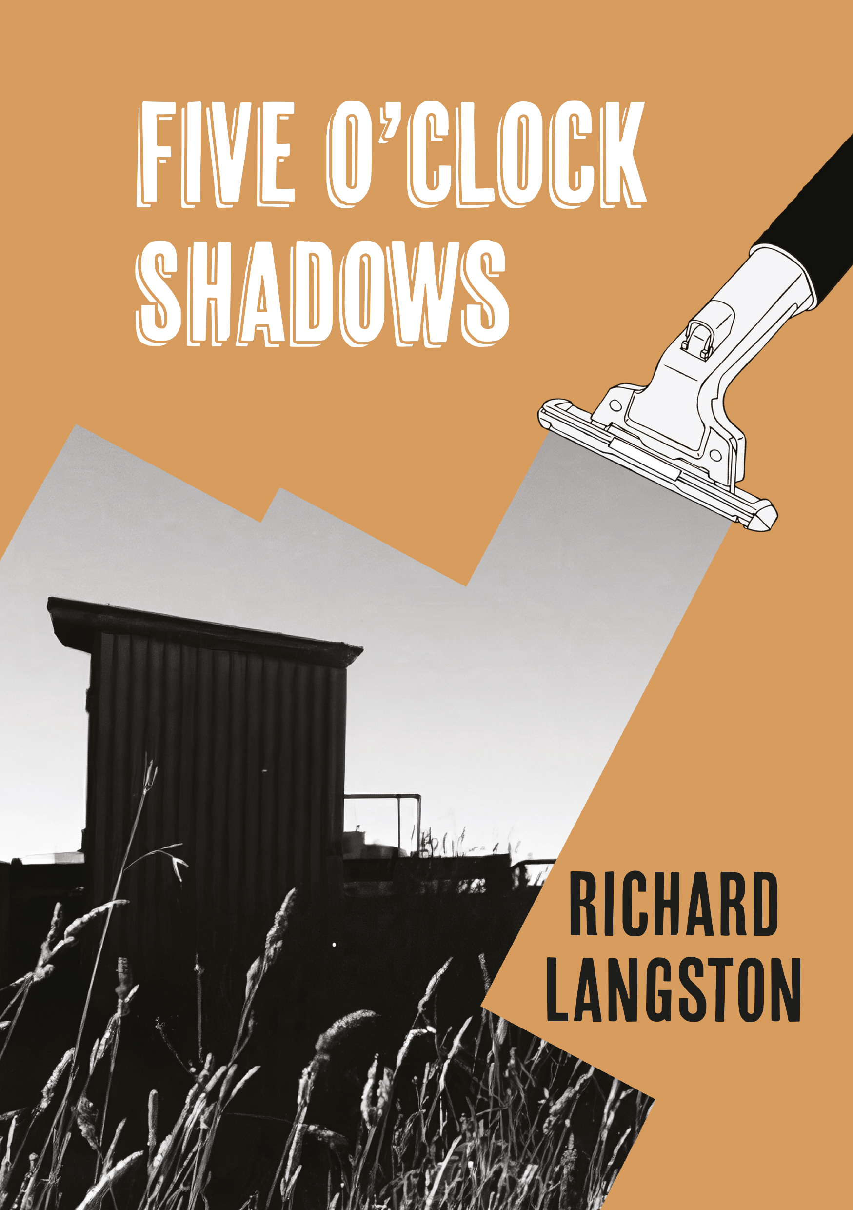 Front cover of Five O'Clock Shawdows, a poetry collection by Richard Langston